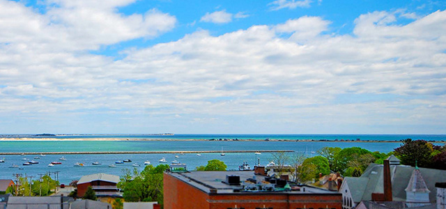 Rooftop Deck View